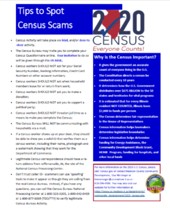Tips to Spot Census Scams